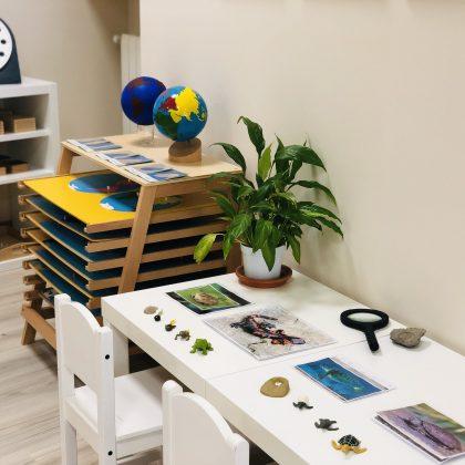 Áreas culturales en el método Montessori