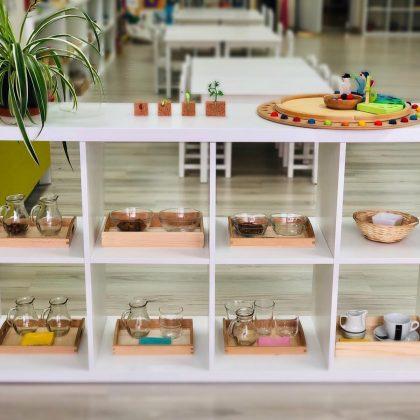 Material Montessori del Área de Vida Práctica