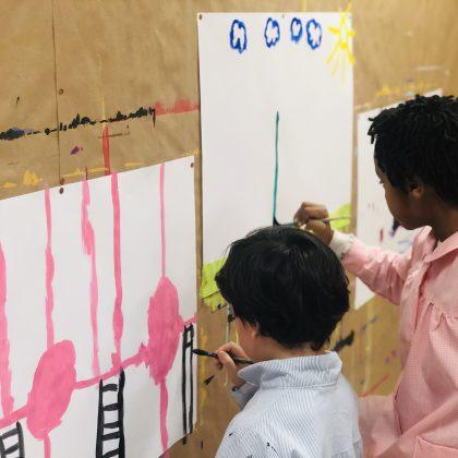 Pintura Cuarto Creciente Montessori Logroño (4)